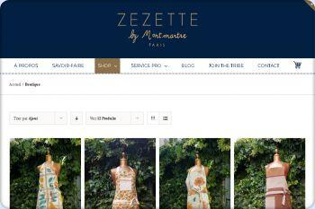 Cliquez pour visiter la page Boutique en ligne de tabliers.