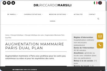 Cliquez pour visiter la page Augmentation Mammaire Paris.