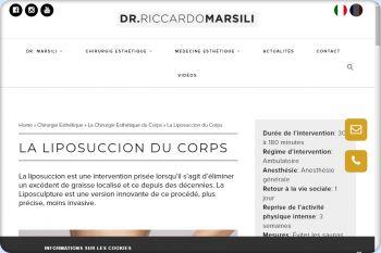 Cliquez pour visiter la page Liposuccion Marseille.