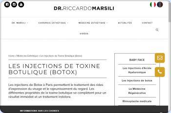 Cliquez pour visiter la page Botox Marseille.