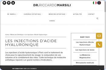 Cliquez pour visiter la page Acide Hyaluronique Paris.