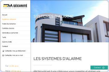Cliquez pour visiter la page Système d'Alarmes.