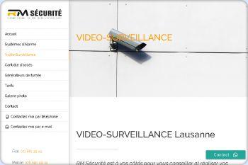 Cliquez pour visiter la page Vidéo surveillance.