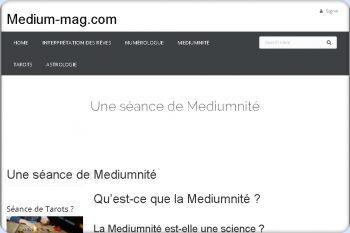 Cliquez pour visiter la page Medium .