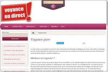 Cliquez pour visiter la page Voyance pure.