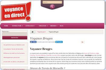 Cliquez pour visiter la page Voyance Bruges.