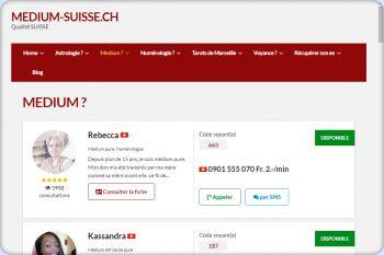 Cliquez pour visiter la page Medium Suisse.