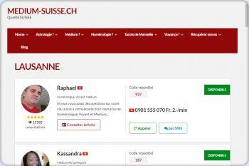 Cliquez pour visiter la page Medium Lausanne.