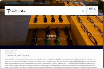Cliquez pour visiter la page Lunettes de soleil Genève.