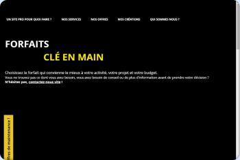 Cliquez pour visiter la page Des forfaits de présence Internet sans engagement à des prix très étudiés !.