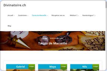 Cliquez pour visiter la page Tarots de Marseille.
