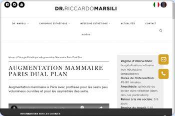 Cliquez pour visiter la page Augmentation mammaire Lausanne.