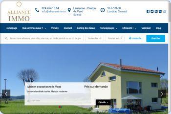 Cliquez pour visiter la page Immobilier Vaud.