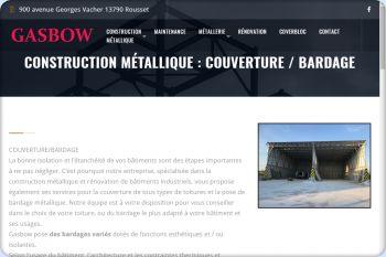 Cliquez pour visiter la page Couverture et bardage métallique.