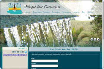 Cliquez pour visiter la page Devis piscine Gard et Hérault (30 34).