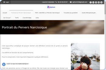 Cliquez pour visiter la page Portrait du pervers narcissique.