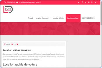Cliquez pour visiter la page Location de voitures Lausanne.