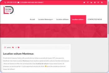 Cliquez pour visiter la page Location voiture Montreux.