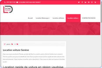 Cliquez pour visiter la page Location voiture Genève.