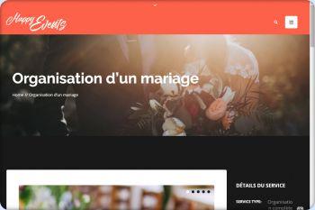 Cliquez pour visiter la page Agence événementielle mariage.