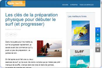Cliquez pour visiter la page Préparation physique au surf.