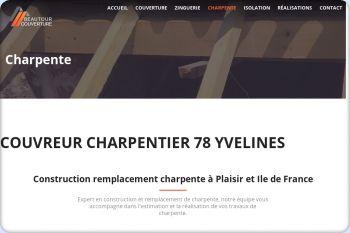 Cliquez pour visiter la page charpente charpentier 78 yvelines.