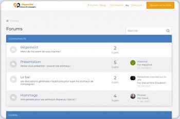 Cliquez pour visiter la page SuperPet : Le Forum !.