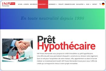 Cliquez pour visiter la page Prêt hypothécaire en Suisse.