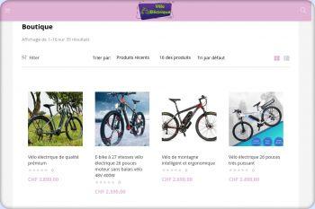 Cliquez pour visiter la page Boutique Vélo électrique.